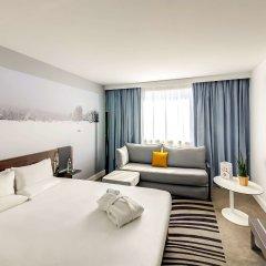 Отель Novotel Montparnasse Париж комната для гостей фото 3