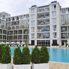 Отель Festa Pomorie Resort Болгария, Поморие - 1 отзыв об отеле, цены и фото номеров - забронировать отель Festa Pomorie Resort онлайн балкон