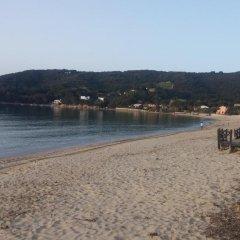 Hotel La Perla Del Golfo Проччио пляж фото 2