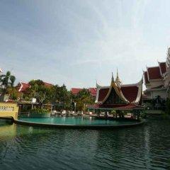 Отель Aonang Ayodhaya Beach Таиланд, Ао Нанг - отзывы, цены и фото номеров - забронировать отель Aonang Ayodhaya Beach онлайн приотельная территория