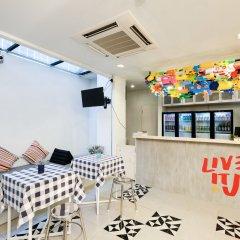 Liveitup Chitlom Hostel Бангкок интерьер отеля фото 2