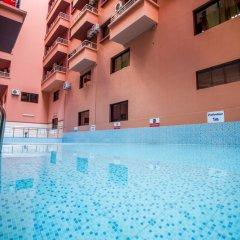 Отель Les Ambassadeurs Марокко, Касабланка - отзывы, цены и фото номеров - забронировать отель Les Ambassadeurs онлайн бассейн фото 2