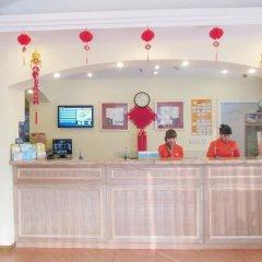 Отель Chengdu Home Inn - People's Park интерьер отеля