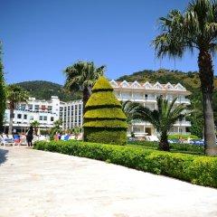 Отель Green Nature Resort & Spa - All Inclusive Мармарис приотельная территория