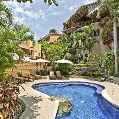 Отель La Villa Luz Adults Only бассейн