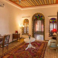 Отель Riad Zeina Марокко, Рабат - отзывы, цены и фото номеров - забронировать отель Riad Zeina онлайн комната для гостей фото 3