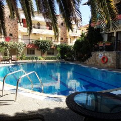 Отель Pelli Hotel Греция, Пефкохори - отзывы, цены и фото номеров - забронировать отель Pelli Hotel онлайн бассейн фото 2