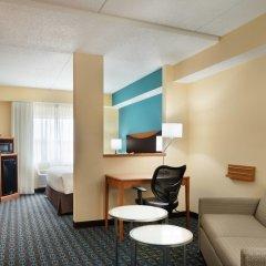 Отель Fairfield Inn & Suites by Marriott Minneapolis Bloomington/Mall of America США, Блумингтон - отзывы, цены и фото номеров - забронировать отель Fairfield Inn & Suites by Marriott Minneapolis Bloomington/Mall of America онлайн комната для гостей