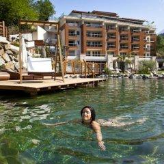 Отель Park- und Vitalresidenz Quellenhof Сан-Мартино-ин-Пассирия бассейн