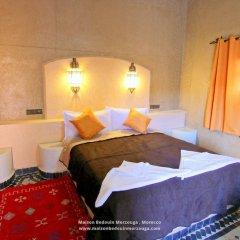Отель Chez Family Bidouin Merzouga Марокко, Мерзуга - отзывы, цены и фото номеров - забронировать отель Chez Family Bidouin Merzouga онлайн комната для гостей фото 4