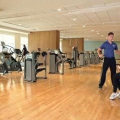 Отель Khalidiya Palace Rayhaan by Rotana, Abu Dhabi фитнесс-зал фото 2
