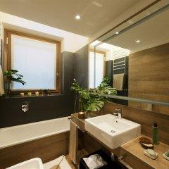 Отель Starhotels Echo Италия, Милан - 1 отзыв об отеле, цены и фото номеров - забронировать отель Starhotels Echo онлайн ванная фото 2