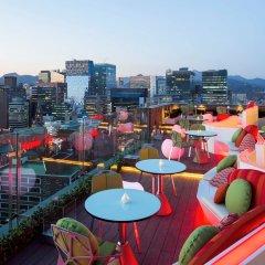 Отель ibis Styles Ambassador Seoul Myeongdong балкон