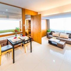 Апартаменты Laemtong Service Apartment комната для гостей фото 2