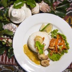 Отель Crusoe's Retreat Фиджи, Вити-Леву - отзывы, цены и фото номеров - забронировать отель Crusoe's Retreat онлайн питание фото 2