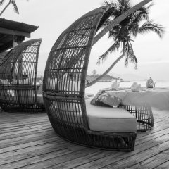 Отель Tango Luxe Beach Villa Samui Таиланд, Самуи - 1 отзыв об отеле, цены и фото номеров - забронировать отель Tango Luxe Beach Villa Samui онлайн приотельная территория