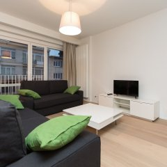 Апартаменты Louise Vleurgat Apartments Брюссель комната для гостей