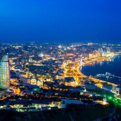 Отель Fairmont Baku at the Flame Towers Азербайджан, Баку - - забронировать отель Fairmont Baku at the Flame Towers, цены и фото номеров