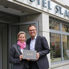 Отель St. Annen Германия, Гамбург - отзывы, цены и фото номеров - забронировать отель St. Annen онлайн банкомат