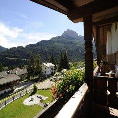 Alpine Touring Hotel Долина Валь-ди-Фасса балкон