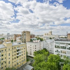 Апартаменты Apartment on B Polyanka 28k1 Москва балкон