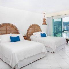 Отель Calinda Beach Acapulco комната для гостей