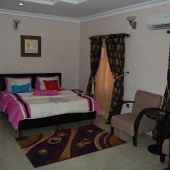 Отель Nue-Crest Hotels And Suites Нигерия, Энугу - отзывы, цены и фото номеров - забронировать отель Nue-Crest Hotels And Suites онлайн комната для гостей фото 3