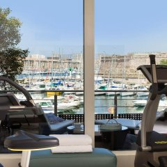 Отель Sofitel Marseille Vieux Port Франция, Марсель - 2 отзыва об отеле, цены и фото номеров - забронировать отель Sofitel Marseille Vieux Port онлайн фитнесс-зал фото 3