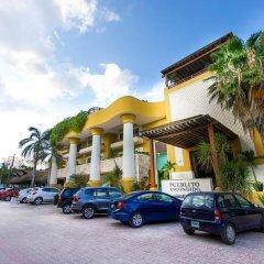 Отель Pueblito Escondido Luxury Condohotel парковка