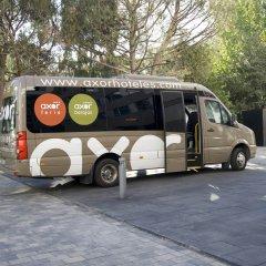 Отель Axor Feria городской автобус