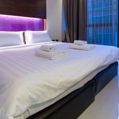 Отель The Bangkok Airport Link Suite комната для гостей фото 5