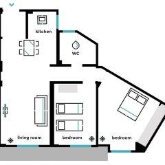 Отель UPSTREET Charming & Comfy 2BD Apt-Acropolis Афины комната для гостей фото 5