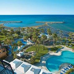 Отель Lordos Beach Кипр, Ларнака - 6 отзывов об отеле, цены и фото номеров - забронировать отель Lordos Beach онлайн пляж