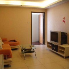 Апартаменты Leju Apartments Shenzhen Guomao Mix City branch комната для гостей фото 2
