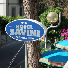 Hotel Savini Римини спортивное сооружение