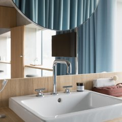 Placid Hotel Design & Lifestyle Zurich ванная фото 2