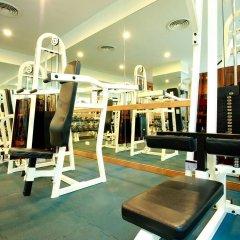 Отель Chaidee Mansion Бангкок фитнесс-зал