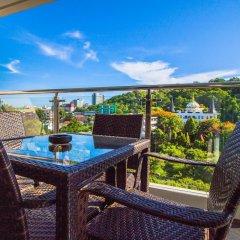 Отель Hyde Park Residence by Pattaya Sunny Rentals Паттайя балкон