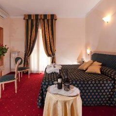 Отель c-hotels Club House Roma 4* Стандартный номер с различными типами кроватей фото 26