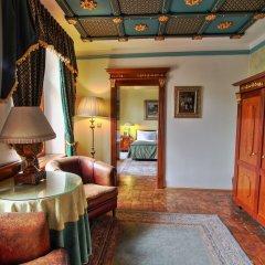 Отель U Pava Прага комната для гостей