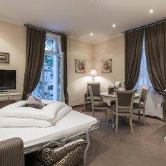 Отель Villa Helvetia Меран комната для гостей фото 5