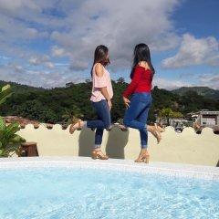 Отель Posada de Belssy Гондурас, Копан-Руинас - отзывы, цены и фото номеров - забронировать отель Posada de Belssy онлайн бассейн фото 2