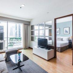 Отель Evergreen Place Siam by UHG Таиланд, Бангкок - 1 отзыв об отеле, цены и фото номеров - забронировать отель Evergreen Place Siam by UHG онлайн комната для гостей фото 3