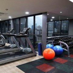 Отель Citrus Suites Sukhumvit 6 By Compass Hospitality Бангкок фитнесс-зал
