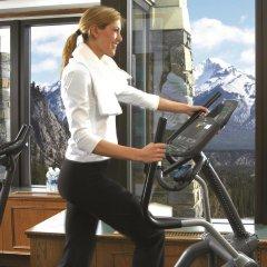 Отель Fairmont Banff Springs фитнесс-зал
