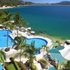 Отель Camino Real Acapulco Diamante бассейн фото 2