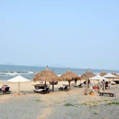 Отель Seaside An Bang Homestay пляж фото 2