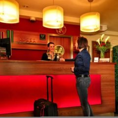 Отель Central Германия, Нюрнберг - отзывы, цены и фото номеров - забронировать отель Central онлайн интерьер отеля фото 3