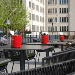 Отель Park Inn by Radisson Brussels Airport балкон