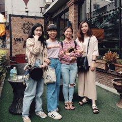Vm1 Hostel Бангкок приотельная территория